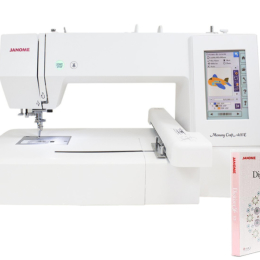 Hafciarka Janome MC400E + Program Digitizer JR 5.0