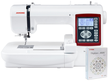 Hafciarka komputerowa Janome MC230E + program Janome Digitizer MBX