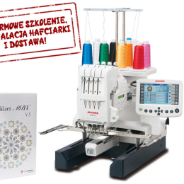 Hafciarka Janome MB-4S + Program Digitizer MBX 5.0