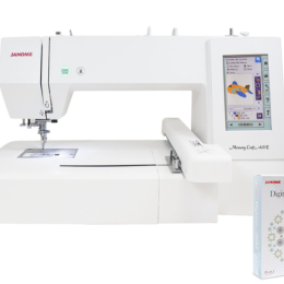 Hafciarka Janome MC400E + Program Digitizer MBX 5.0