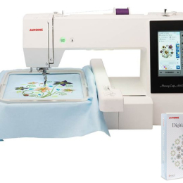 Hafciarka Janome MC500E + program MBX 5.0