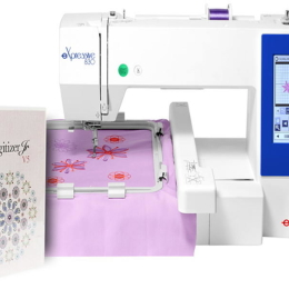 Hafciarka Elna 830 + program Janome Digitizer JR