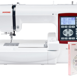 Hafciarka komputerowa Janome MC230E + program Janome Digitizer JR