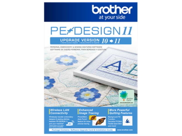 Upgrade programu PE DESIGN 10 do PE DESIGN 11 BROTHER