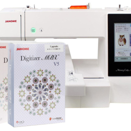 Janome MC500E Hafciarka + program Janome Digitizer JR 5 i Upgrade do wersji MBX