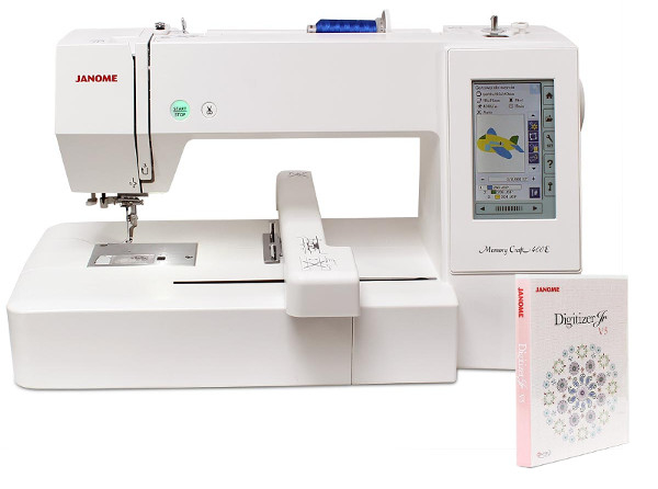 GRATIS Program do hafciarki JANOME MC400E